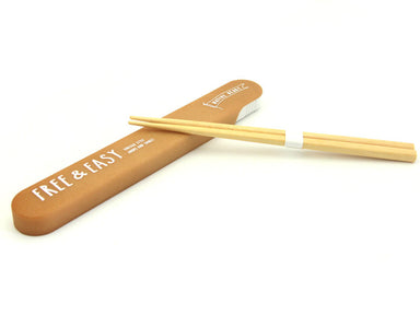 Free & Easy Wood Tones Chopsticks Brown by Showa - Bento&co Japanese Bento Lunch Boxes and Kitchenware Specialists
