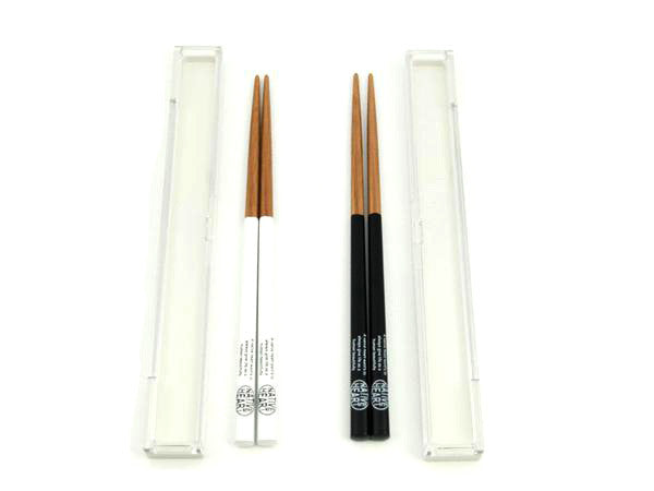Free and Easy Chopsticks Black by Showa - Bento&co Japanese Bento Lunch Boxes and Kitchenware Specialists