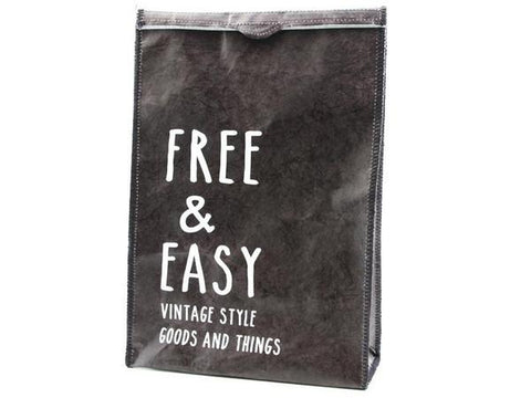Free and Easy Clutch Bag | Black