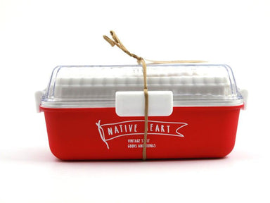 Free and Easy Long Bento Box | Red by Showa - Bento&co Japanese Bento Lunch Boxes and Kitchenware Specialists