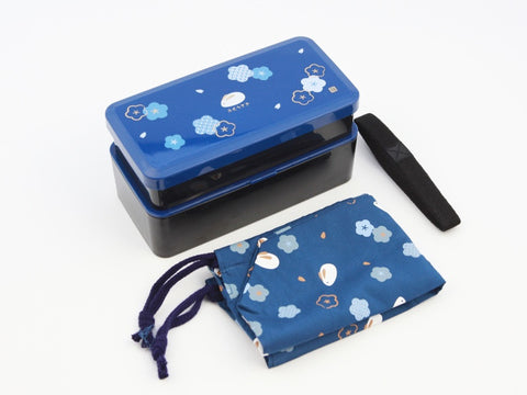 Fuku Usagi Bento Box | Blue by Skater - Bento&con the Bento Boxes specialist from Kyoto