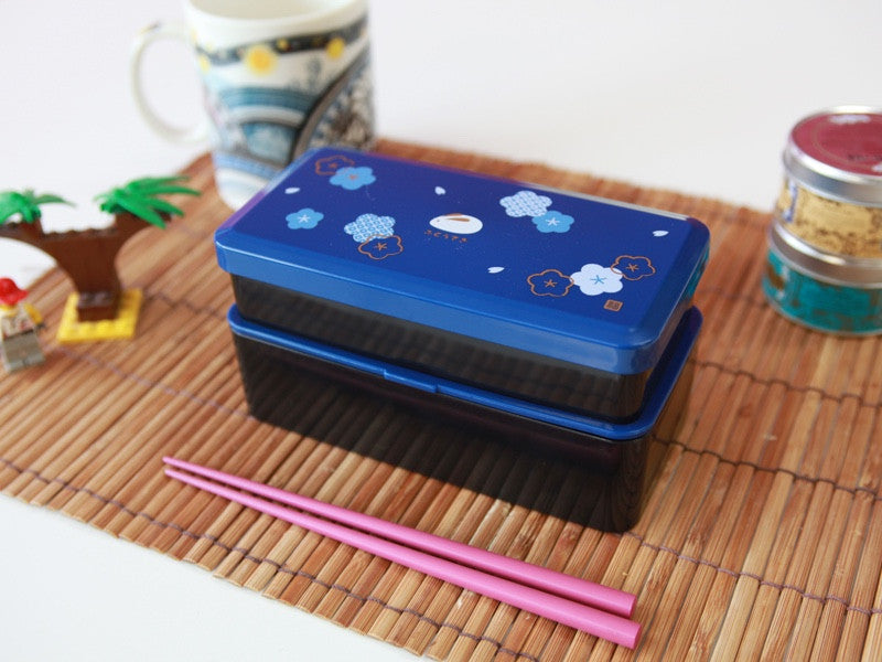Fuku Usagi Bento Box | Blue by Skater - Bento&co Japanese Bento Lunch Boxes and Kitchenware Specialists