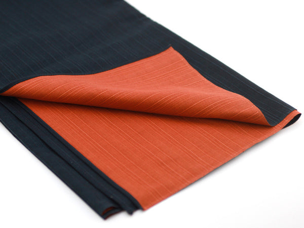 Furoshiki Ooki Black Orange