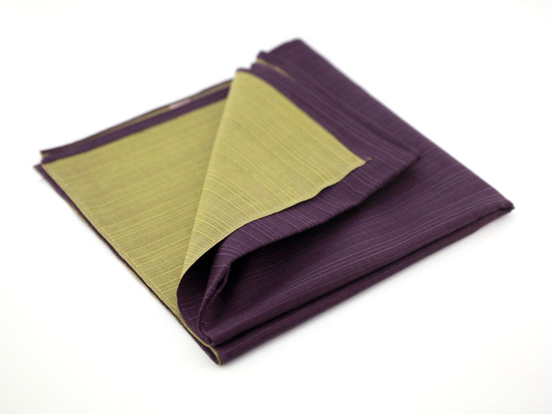Furoshiki Ooki Green Purple by Yamada Seni - Bento&con the Bento Boxes specialist from Kyoto