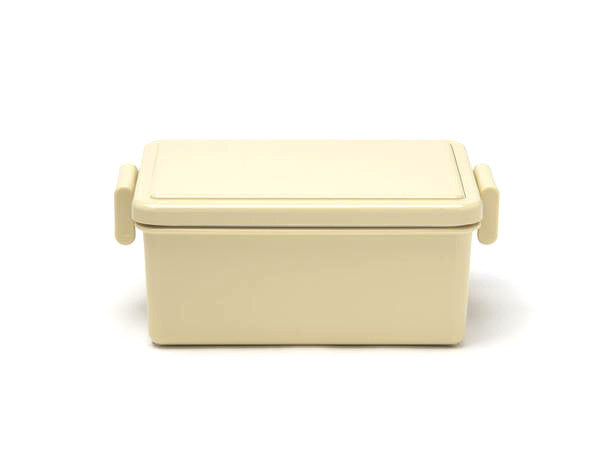 Gel-Cool Square Bento Box Large | Biscuit Beige by Gel Cool - Bento&co Japanese Bento Lunch Boxes and Kitchenware Specialists