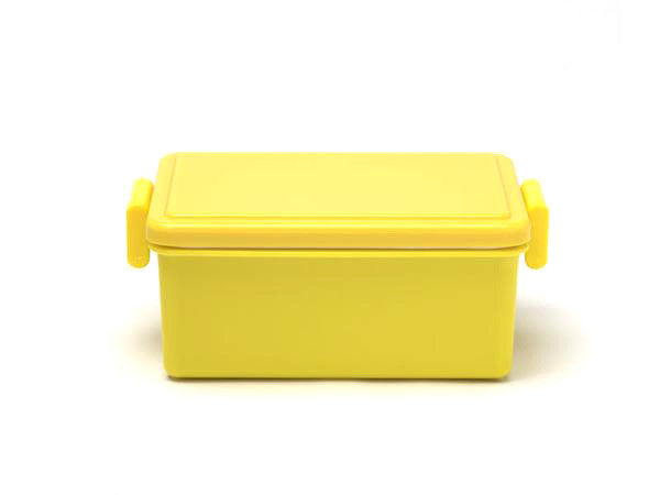 Gel-Cool Square Bento Box Large | Corn Yellow by Gel Cool - Bento&co Japanese Bento Lunch Boxes and Kitchenware Specialists