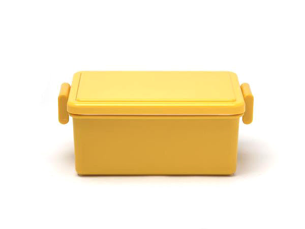 Gel-Cool Square Bento Box Large | Mango Yellow by Gel Cool - Bento&co Japanese Bento Lunch Boxes and Kitchenware Specialists