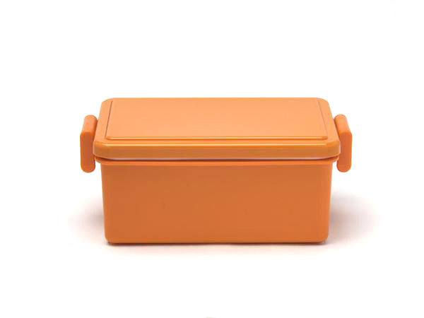 Gel-Cool Square Bento Box Large | Pumpkin Orange by Gel Cool - Bento&co Japanese Bento Lunch Boxes and Kitchenware Specialists