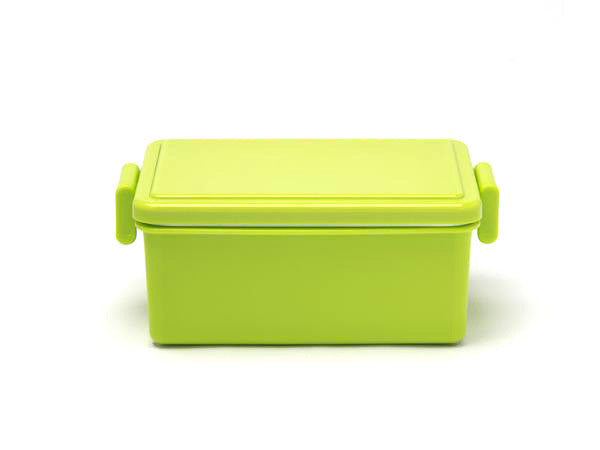 Gel-Cool Square Bento Box Large | Asparagus Green by Gel Cool - Bento&co Japanese Bento Lunch Boxes and Kitchenware Specialists