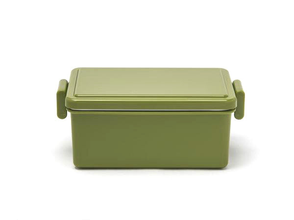 Gel-Cool Square Bento Box Large | Olive Green by Gel Cool - Bento&co Japanese Bento Lunch Boxes and Kitchenware Specialists