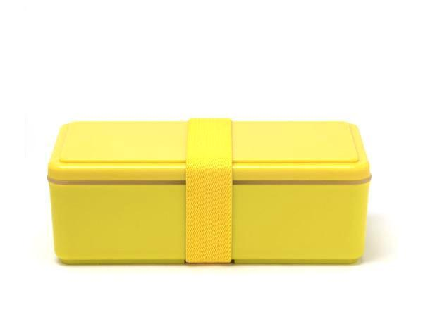 Gel-Cool Rectangle Bento Box | Corn Yellow by Gel Cool - Bento&co Japanese Bento Lunch Boxes and Kitchenware Specialists