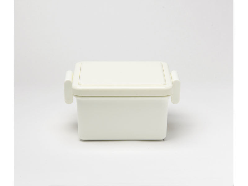 Gel-Cool Square Bento Box Small | Milk White by Gel Cool - Bento&co Japanese Bento Lunch Boxes and Kitchenware Specialists