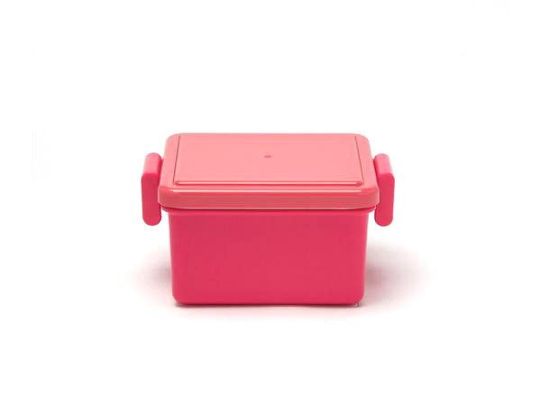 Gel-Cool Square Bento Box Small | Cherry Pink by Gel Cool - Bento&co Japanese Bento Lunch Boxes and Kitchenware Specialists