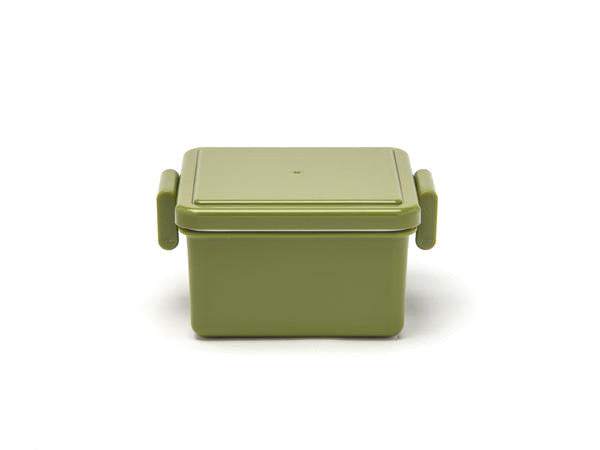 Gel-Cool Square Bento Box Small | Olive Green by Gel Cool - Bento&co Japanese Bento Lunch Boxes and Kitchenware Specialists