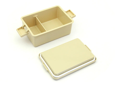 GEL-COOL square L biscuit beige by Gel Cool - Bento&con the Bento Boxes specialist from Kyoto