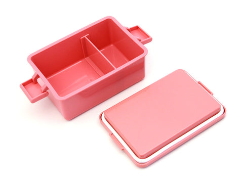 Gel-Cool Square Bento Box Large | Macaroon Pink by Gel Cool - Bento&co Japanese Bento Lunch Boxes and Kitchenware Specialists