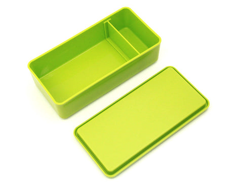 GEL-COOL square Single asparagus green by Gel Cool - Bento&con the Bento Boxes specialist from Kyoto