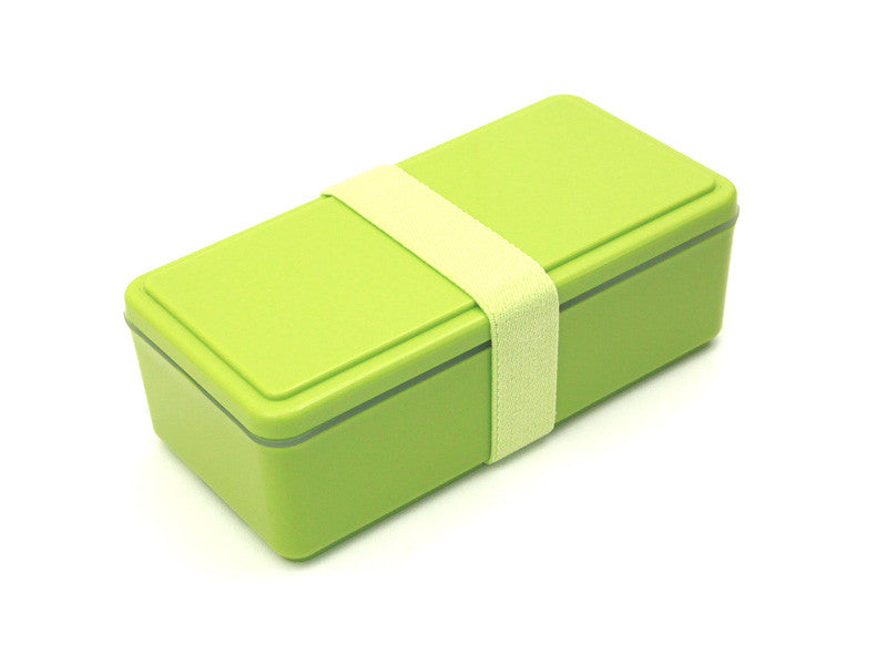 Gel-Cool Rectangle Bento Box | Asparagus Green by Gel Cool - Bento&co Japanese Bento Lunch Boxes and Kitchenware Specialists