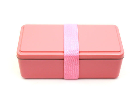 Gel-Cool Rectangle Bento Box | Macaroon Pink by Gel Cool - Bento&co Japanese Bento Lunch Boxes and Kitchenware Specialists