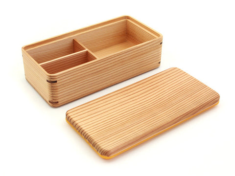 Gel-Cool MWood Bento Box | White by Gel Cool - Bento&co Japanese Bento Lunch Boxes and Kitchenware Specialists