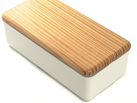 Bento wood lid | White by Gel Cool - Bento&con the Bento Boxes specialist from Kyoto
