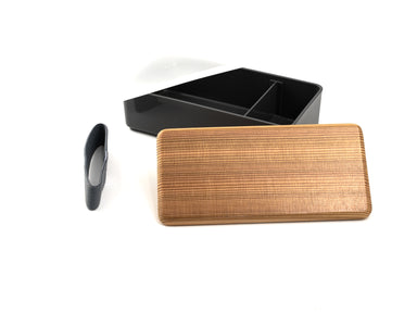 Sugi Bento Box | Gray by Gel Cool - Bento&co Japanese Bento Lunch Boxes and Kitchenware Specialists