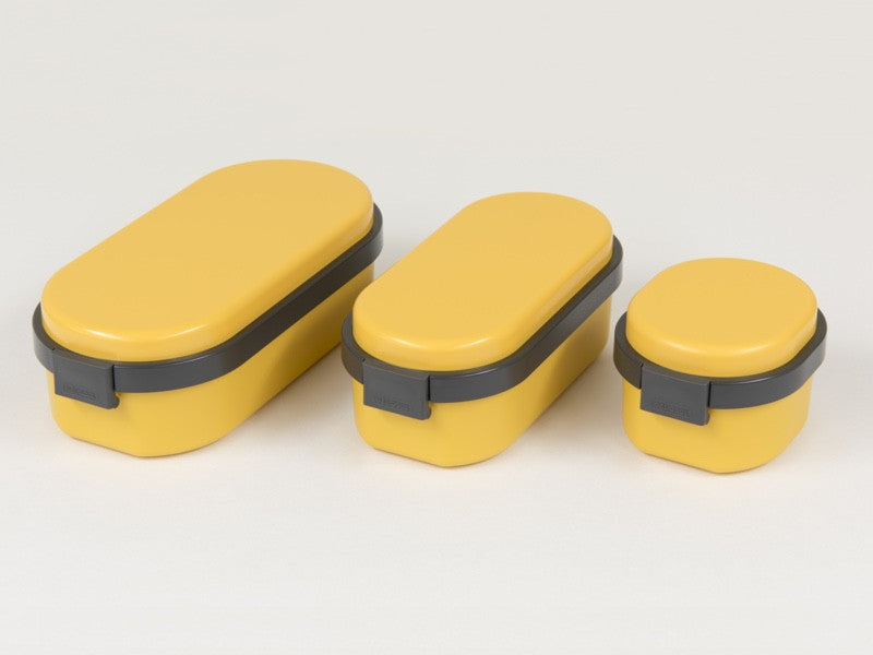 Gel-Cool Dome Bento Box Medium | Mango Yellow by Gel Cool - Bento&co Japanese Bento Lunch Boxes and Kitchenware Specialists