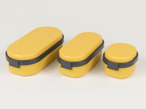 Gel-Cool Dome Bento Box Large | Mango Yellow by Gel Cool - Bento&co Japanese Bento Lunch Boxes and Kitchenware Specialists