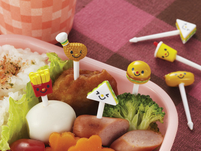 Hamburger Picks by Torune - Bento&con the Bento Boxes specialist from Kyoto