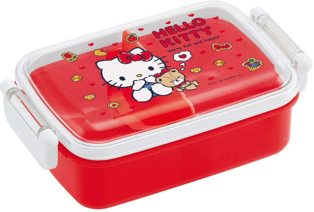 Hello Kitty Cookie Side Lock Bento Box | Rectangle