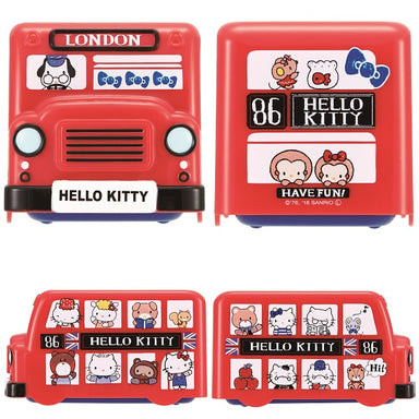 Hello Kitty London Double Decker Bus Bento by Skater - Bento&co Japanese Bento Lunch Boxes and Kitchenware Specialists
