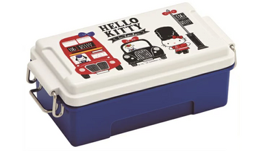 Hello Kitty London Side Lock Bento | Metal by Skater - Bento&co Japanese Bento Lunch Boxes and Kitchenware Specialists