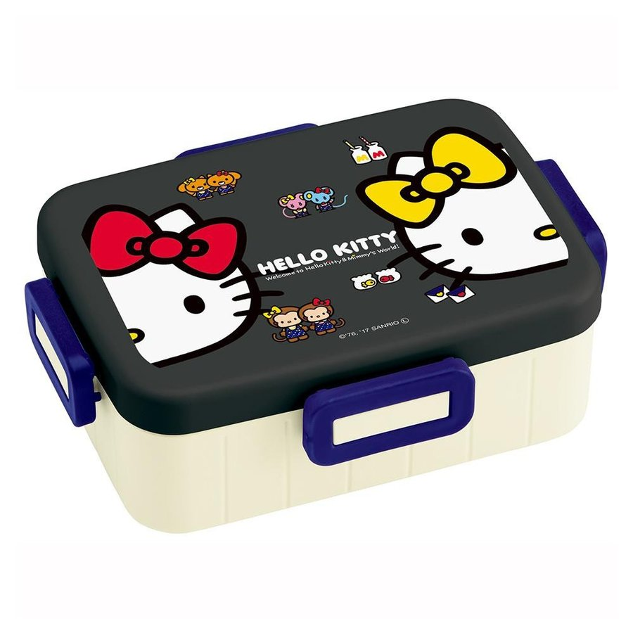 Hello Kitty Mimmy 4 Side Lock Bento Rectangle | Slim by Skater - Bento&co Japanese Bento Lunch Boxes and Kitchenware Specialists
