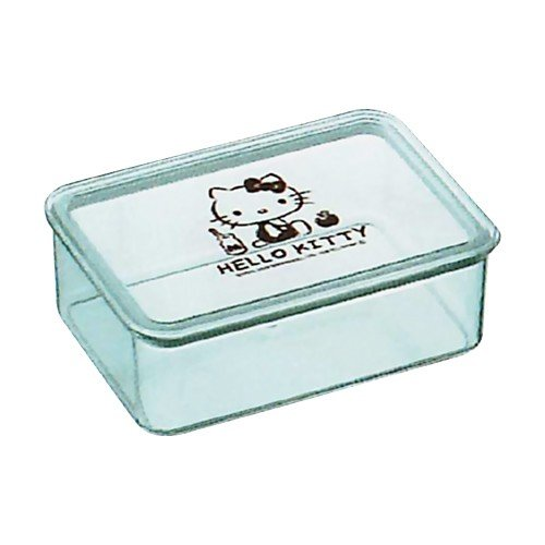 Hello Kitty Transparent Container 650mL by Skater - Bento&co Japanese Bento Lunch Boxes and Kitchenware Specialists