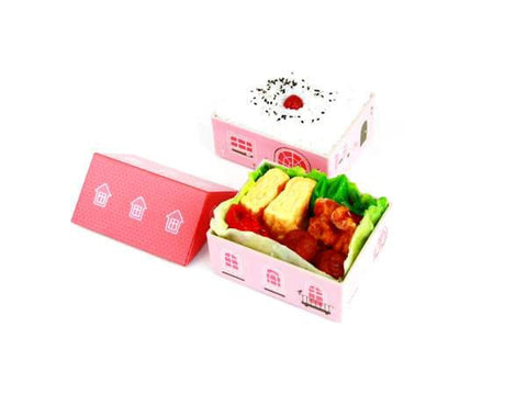 Obento House Lunch Box | Aka by Hakoya - Bento&con the Bento Boxes specialist from Kyoto