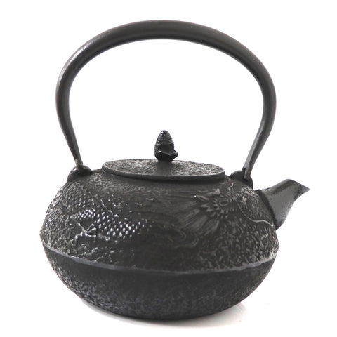 Tetsubin Iron Kettle | Dragon Amidst the Clouds