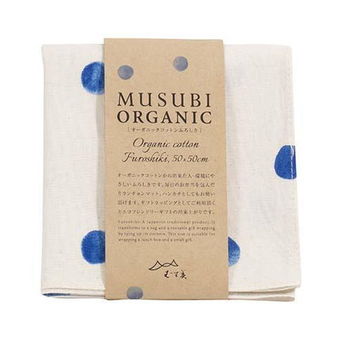 Organic Cotton Furoshiki | Teardrops by Yamada Seni - Bento&co Japanese Bento Lunch Boxes and Kitchenware Specialists