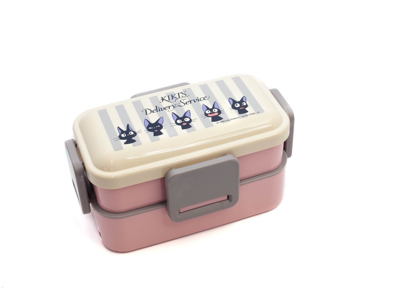 Jiji Stripes Side Lock Double Bento Box | 600ml