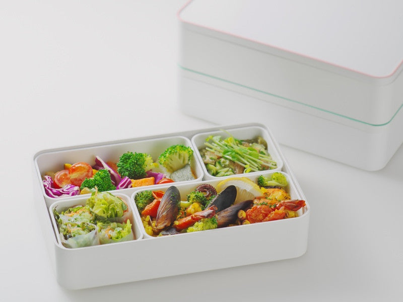 Irodori Shokado Bento Box | Blue by Showa - Bento&co Japanese Bento Lunch Boxes and Kitchenware Specialists