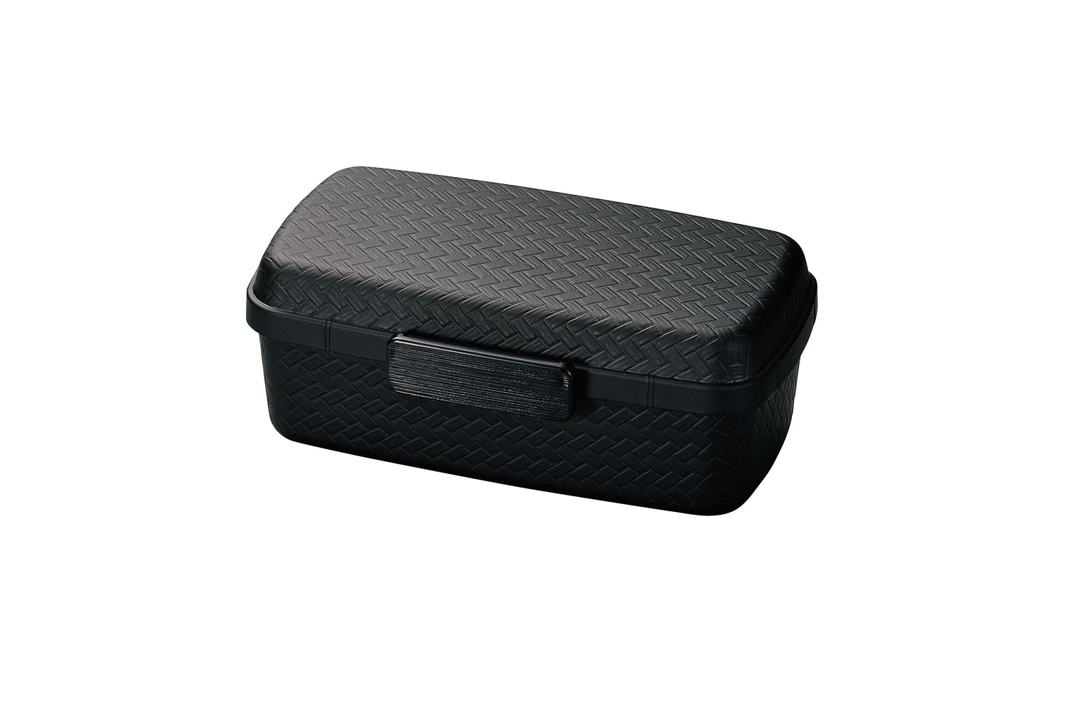 Nuri Ajiro Side Lock Bento Box Large | Black by Hakoya - Bento&co Japanese Bento Lunch Boxes and Kitchenware Specialists