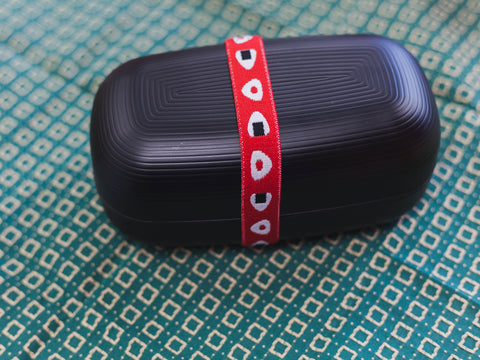 Lunch Belt Musubi | Onigiri Red by Marue Nissan - Bento&co Japanese Bento Lunch Boxes and Kitchenware Specialists