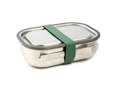 Black + Blum Box Appetit Stainless Steel | Olive by Black + Blum - Bento&co Japanese Bento Lunch Boxes and Kitchenware Specialists