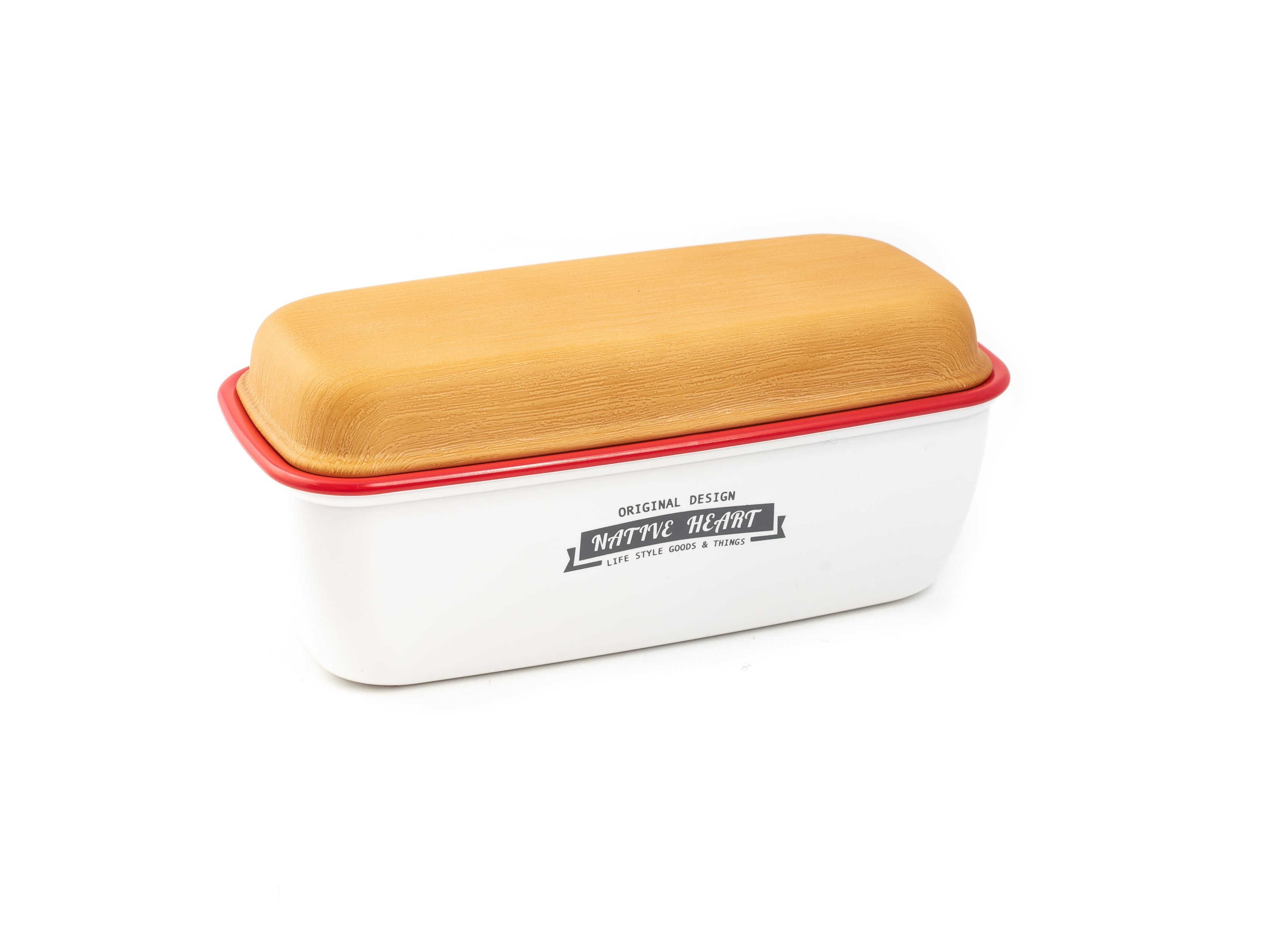 Native Heart Original Lunch Box | White by Showa - Bento&co Japanese Bento Lunch Boxes and Kitchenware Specialists