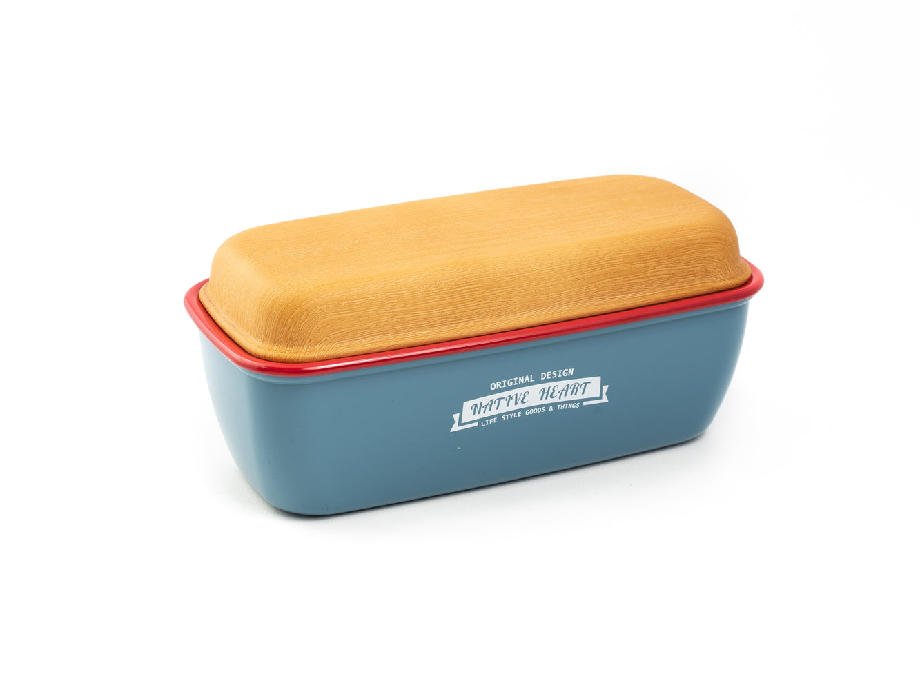 Native Heart Original Lunch Box | Blue by Showa - Bento&con the Bento Boxes specialist from Kyoto
