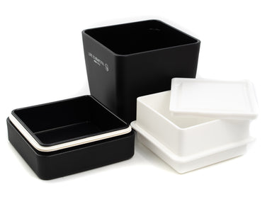 Life is Beautiful Lunch Tall | Black by Showa - Bento&co Japanese Bento Lunch Boxes and Kitchenware Specialists