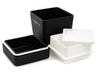 Life is Beautiful Lunch Tall | Gray by Showa - Bento&co Japanese Bento Lunch Boxes and Kitchenware Specialists