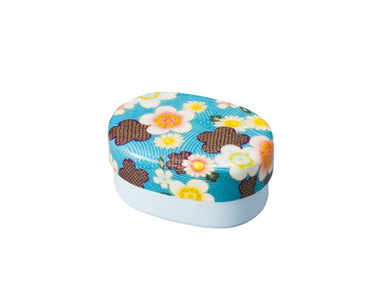 Kaga Sakura Bento 415ml | Blue by Hakoya - Bento&co Japanese Bento Lunch Boxes and Kitchenware Specialists