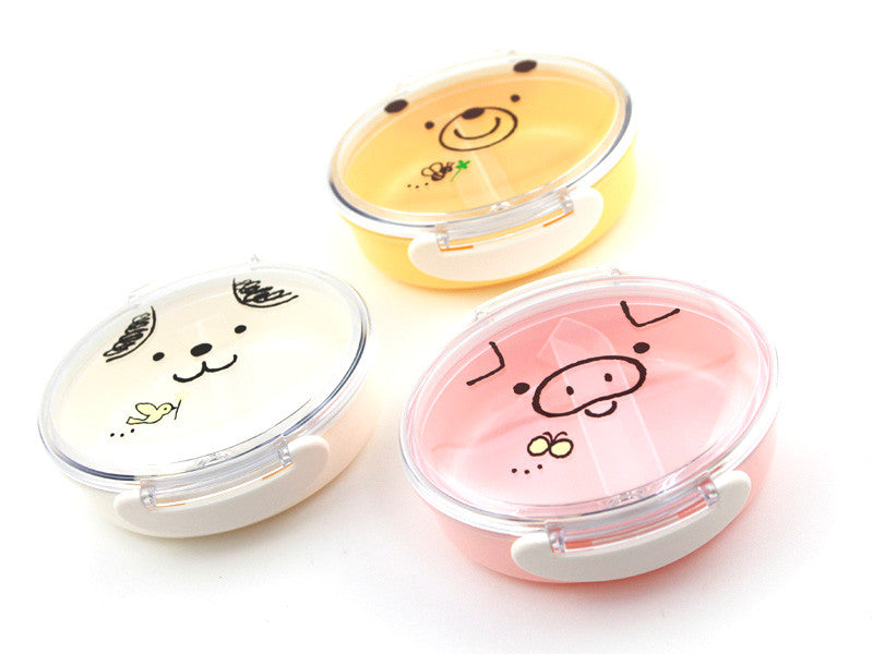 Tomodachi Kids Animals Bento | Pig by Hakoya - Bento&co Japanese Bento Lunch Boxes and Kitchenware Specialists