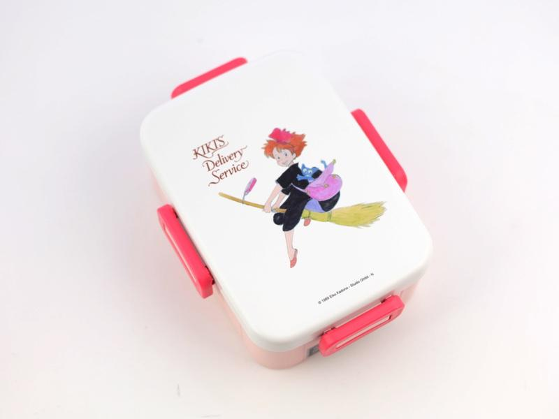 Kiki 4 Side Locks Bento Box 650 ml by Skater - Bento&con the Bento Boxes specialist from Kyoto