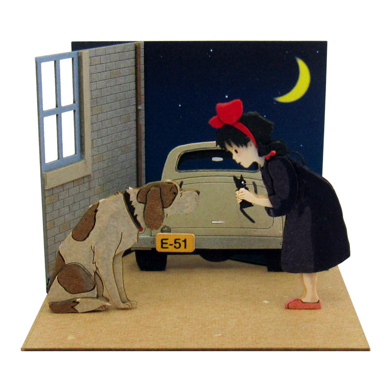 Miniatuart | Kiki and old dog Jefferson by Sankei - Bento&co Japanese Bento Lunch Boxes and Kitchenware Specialists
